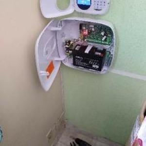 Instalação de alarmes de casa