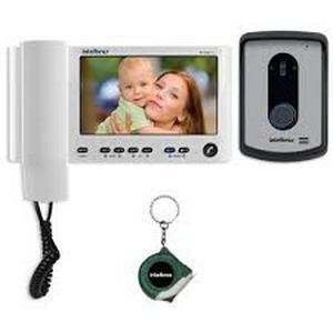 Instalação de interfone com camera